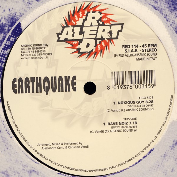 "Earthquake - Noxious Guy [12"" Maxi]"