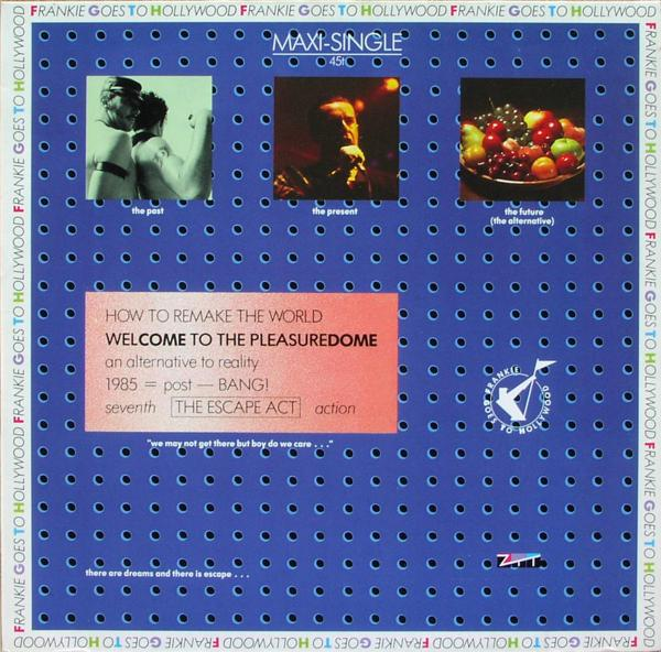 "Frankie Goes To Hollywood - Welcome To The Pleasuredome [12"" Maxi]"