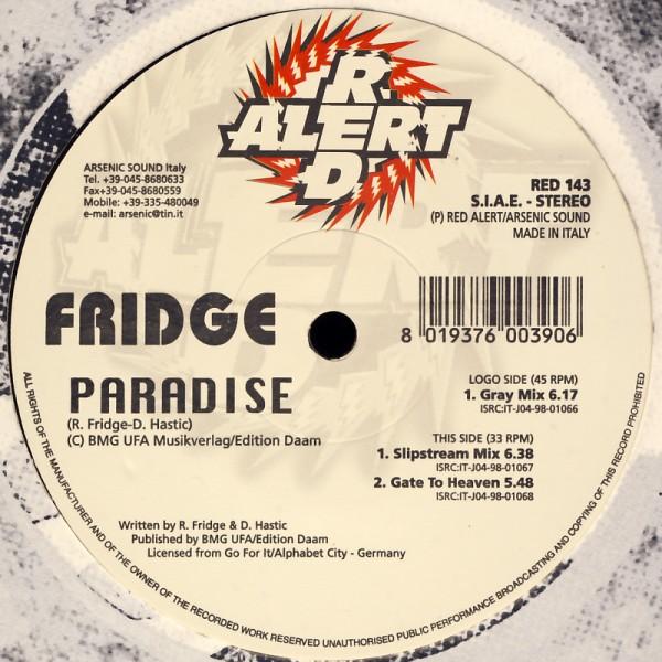 "Fridge - Paradise [12"" Maxi]"