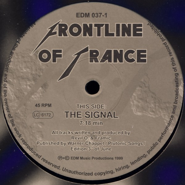 "Frontline Of Trance - The Signal [12"" Maxi]"