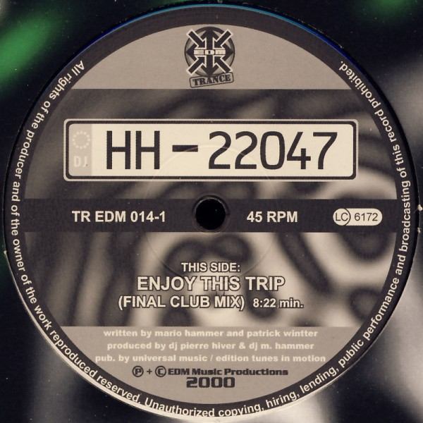 "HH-22047 - Enjoy This Trip [12"" Maxi]"