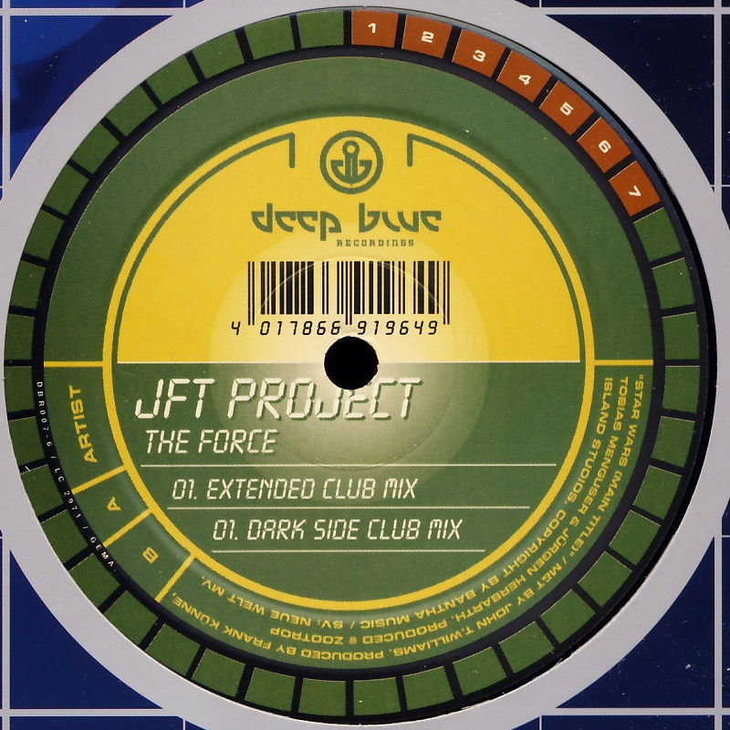 "JFT Project - The Force [12"" Maxi]"