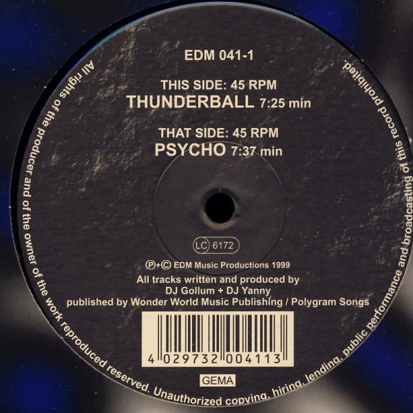 """Killerbounce - Psycho / Thunderball [12"""" Maxi]"""