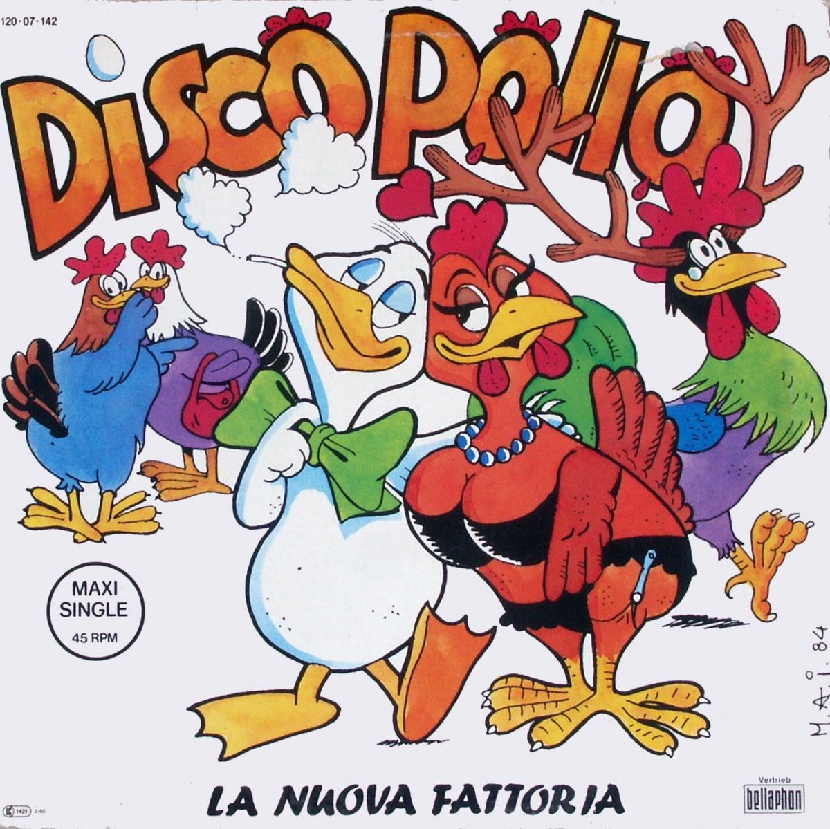 """La Nuova Fattoria - Disco Pollo [12"""" Maxi]"""