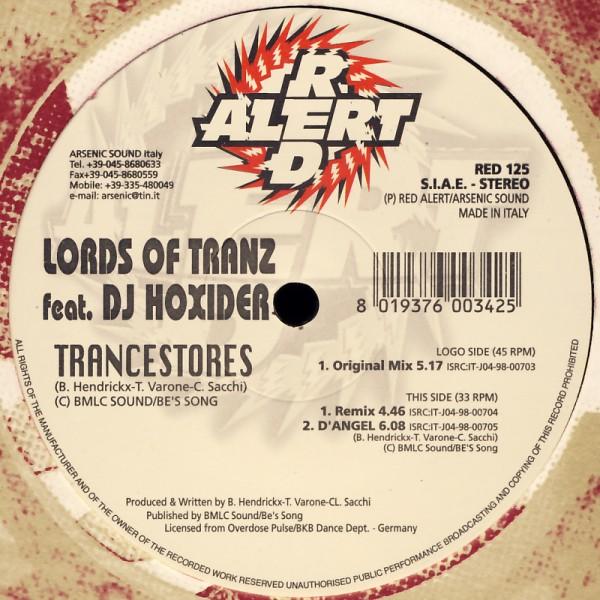 "Lord Of Tranz feat. DJ Hoxider - Trancestores [12"" Maxi]"