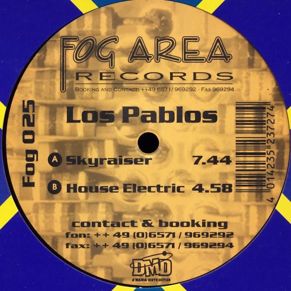 """Los Pablos - Skyraiser / House Electric [12"""" Maxi]"""