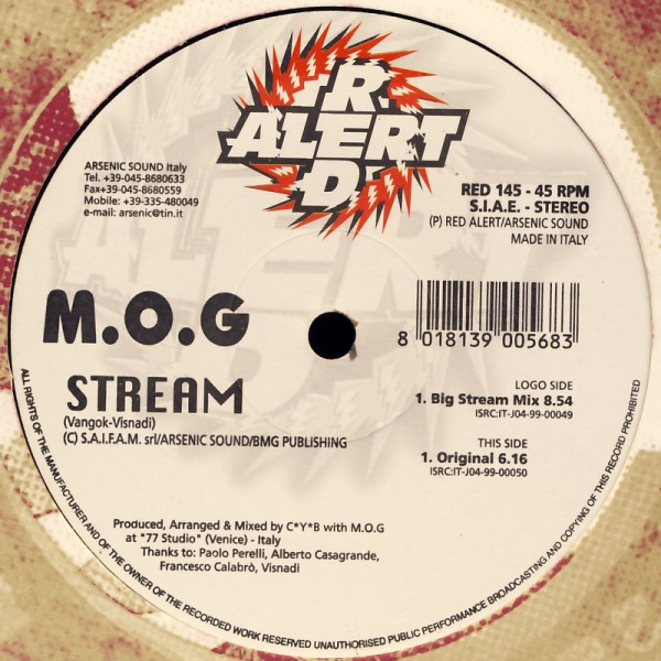 "MOG - Stream [12"" Maxi]"