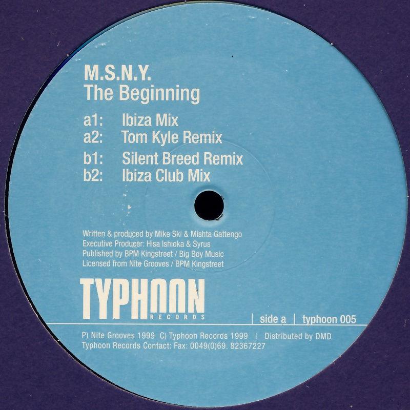"MSNY - The Beginning [12"" Maxi]"