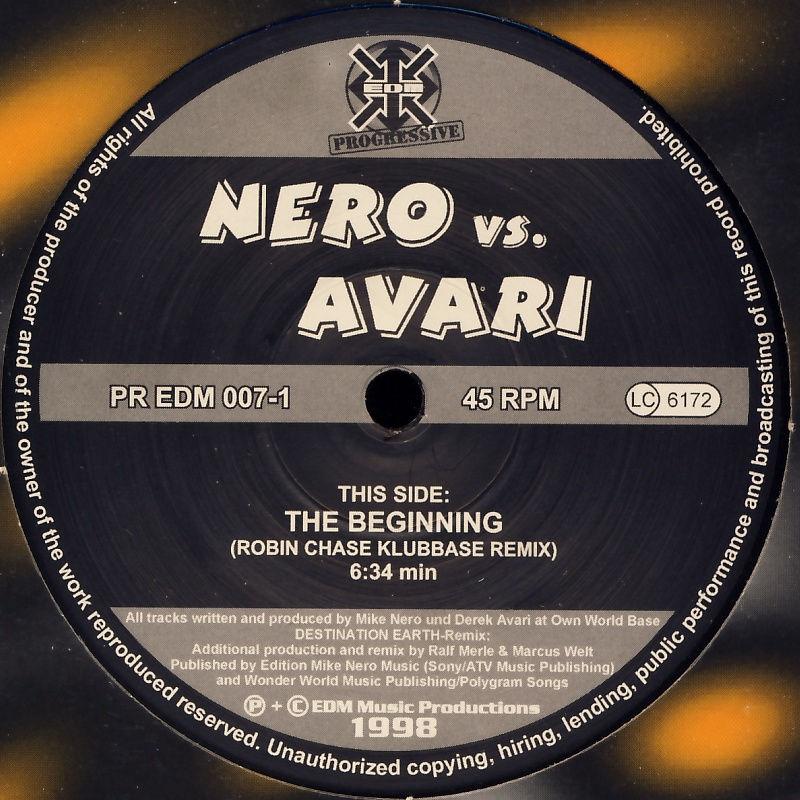 """Nero vs. Avari - Beginning [12"""" Maxi]"""