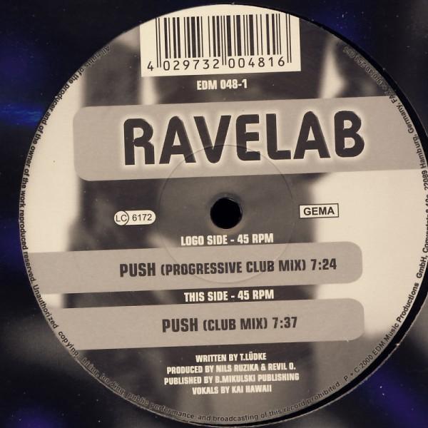 """Ravelab - Push [12"""" Maxi]"""