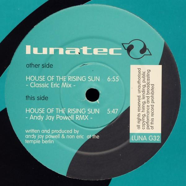 "TBB - House Of The Rising Sun [12"" Maxi]"