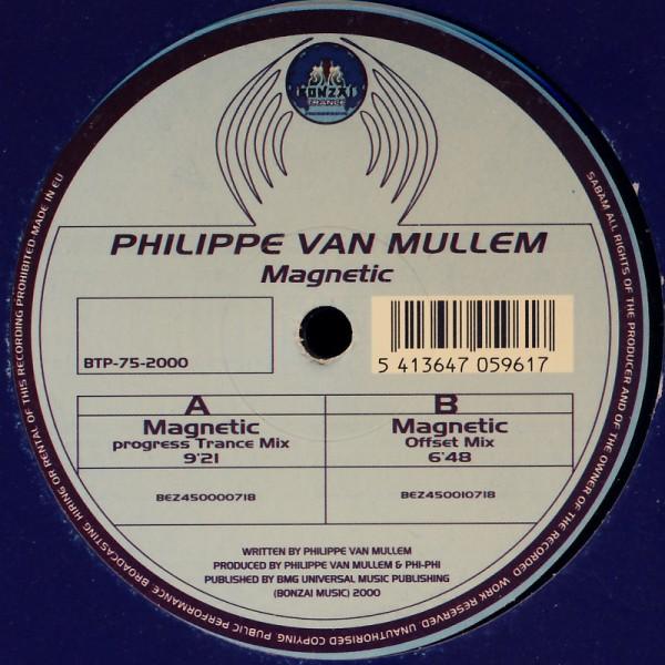 """Van Mullem, Philippe - Magnetic [12"""" Maxi]"""