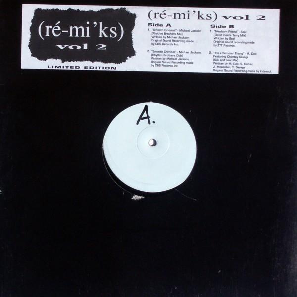 """Various - Ré-mi'ks Vol. 2 [12"""" Maxi]"""