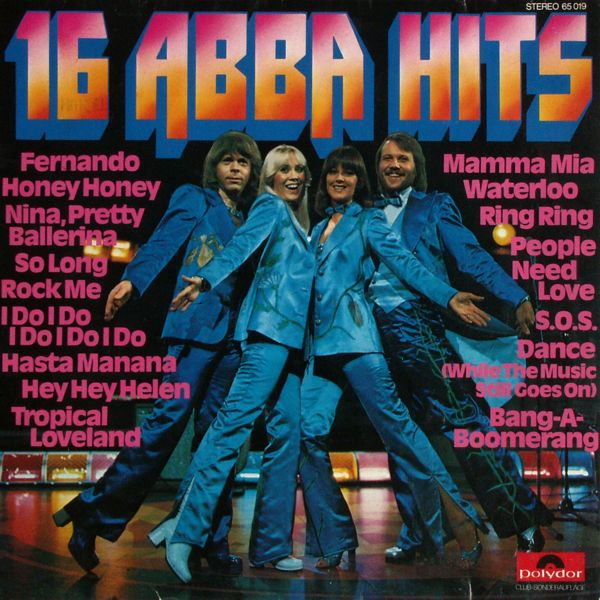 ABBA - 16 Abba Hits [LP]