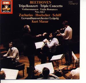 Beethoven - Tripelkonzert • Triple Concerto / Violinromanzen • Violin Romances Nos. 1 & 2 [CD]