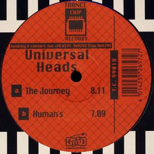 """Universal Heads - The Journey [12"""" Maxi]"""