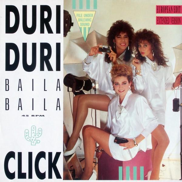 """Click - Duri Duri (Baila Baila) [12"""" Maxi]"""