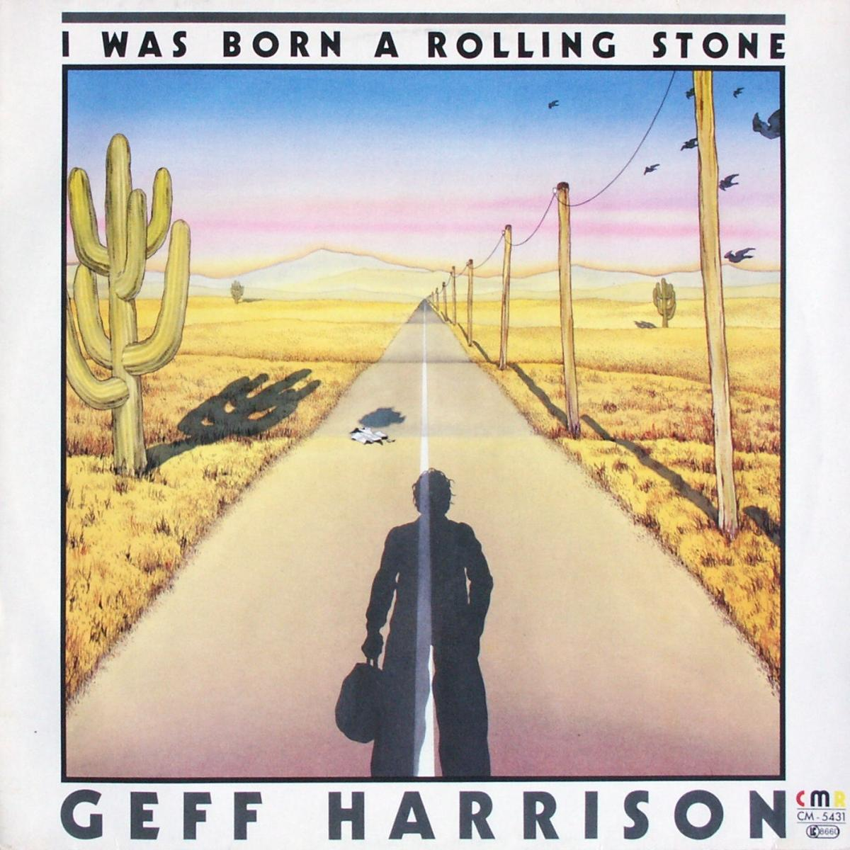 """Harrison, Geff - I Was Born A Rolling Stone [12"""" Maxi]"""