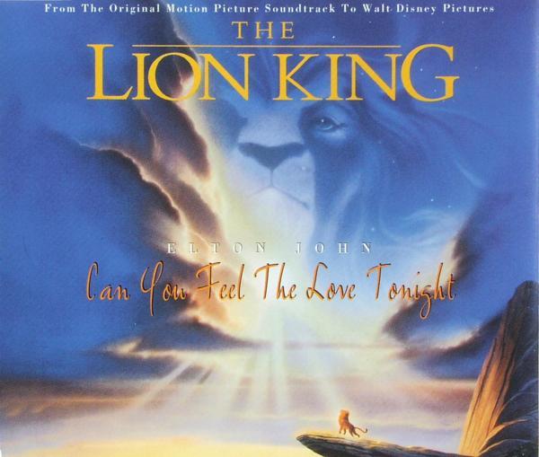 John, Elton - Can You Feel The Love Tonight [CD-Single]