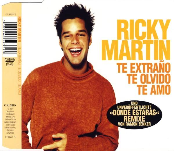 Martin, Ricky - Te Extrano, Te Olvido, Te Amo [CD-Single]