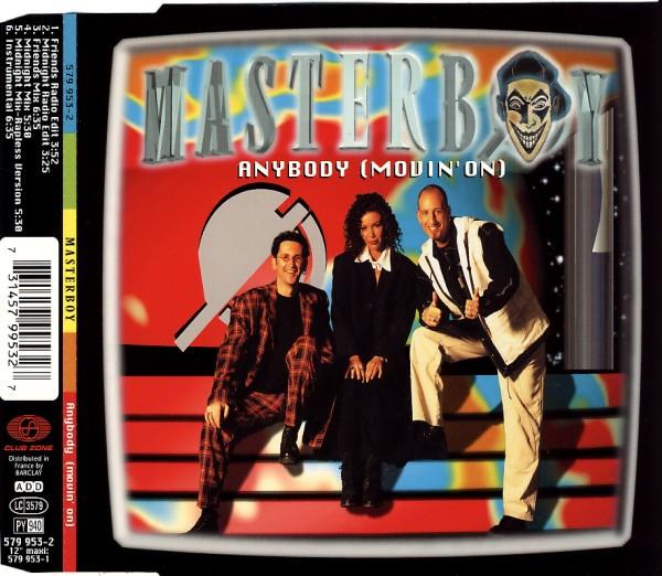 Masterboy - Anybody (Movin' On) [CD-Single]