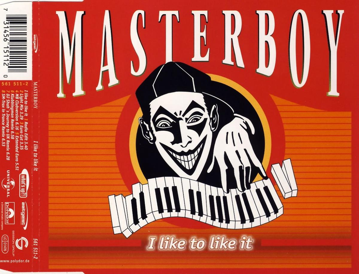 Masterboy - I Like To Like It [CD-Single]
