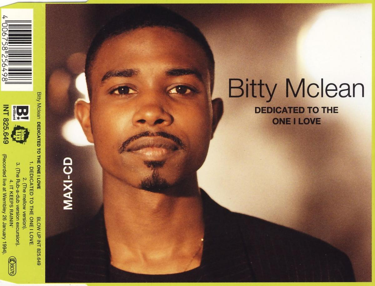 McLean, Bitty - Dedicated To The One I Love [CD-Single]