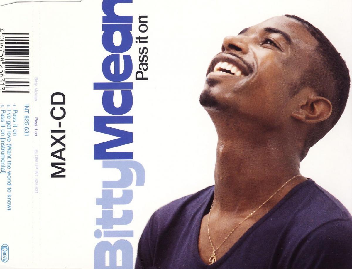 McLean, Bitty - Pass It On [CD-Single]