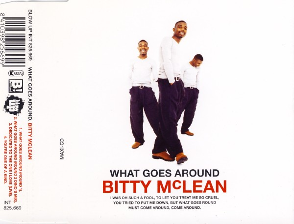 McLean, Bitty - What Goes Around [CD-Single]