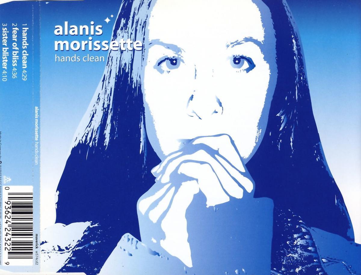 Morissette, Alanis - Hands Clean [CD-Single]