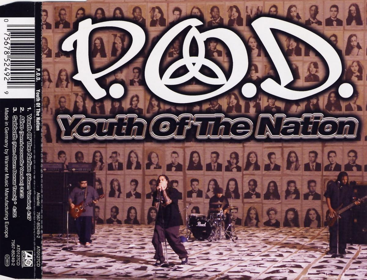 POD - Youth Of The Nation [CD-Single]