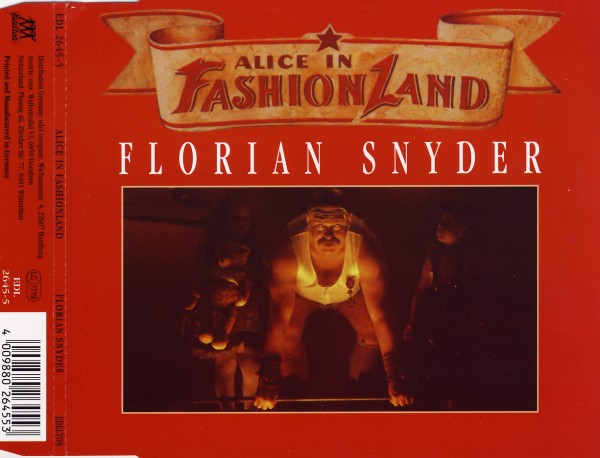 Snyder, Florian - Alice In Fashionland [CD-Single]