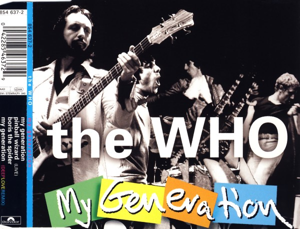 Who - My Generation [CD-Single]