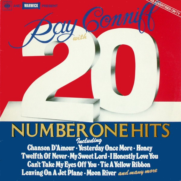 Conniff, Ray - 20 Number One Hits [LP]