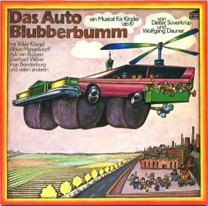 Süverkrüp, Dieter & Wolfgang Dauner - Das Auto Blubberbumm [LP]