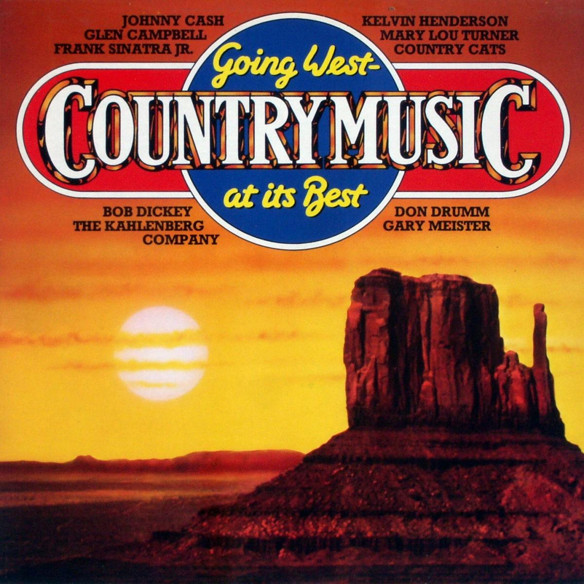 Various - Going West (Country Music At Its Best) [LP] 0