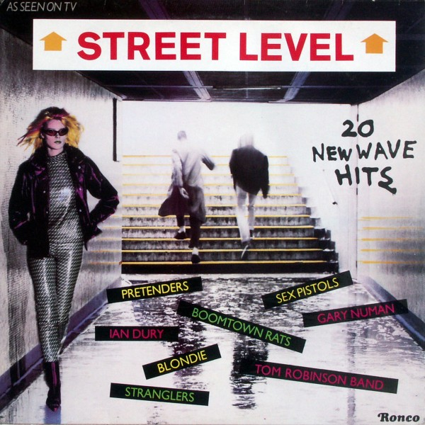 Various - Street Level 20 New Wave Hits [LP] 0