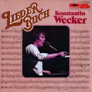 Wecker, Konstantin - Liederbuch [LP]