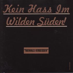 Various - Kein Hass Im Wilden Süden [CD]