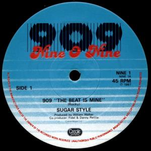 """Sugar Style - 909 The Beat Is Mine [12"""" Maxi]"""