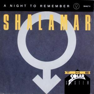 "Shalamar - A Night To Remember [12"" Maxi]"