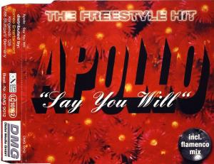Apollo - Say You Will [CD-Single]
