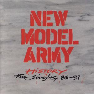New Model Army - History- The Singles 85-91 [CD]