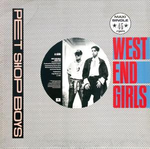 "Pet Shop Boys - West End Girls Dance Mix [12"" Maxi]"