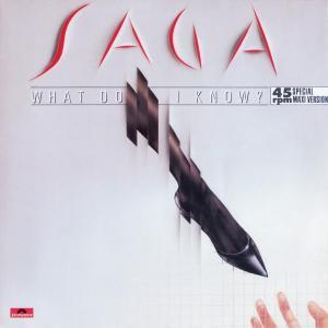 "Saga - What Do I Know [12"" Maxi]"