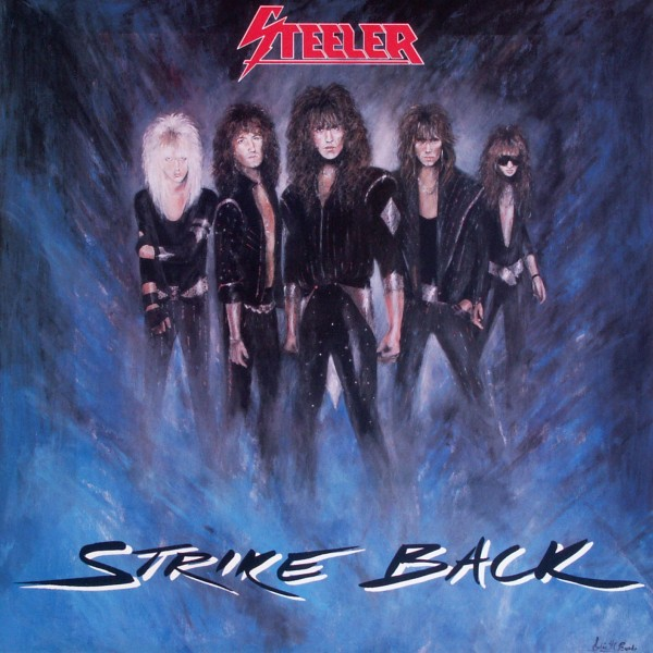 Steeler - Strike Back [LP] 0