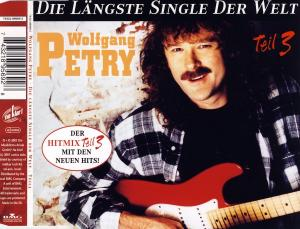Petry, Wolfgang - Die Längste Single Der Welt, Teil 3 [CD-Single]