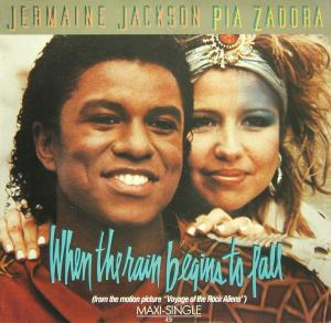"Jackson, Jermaine & Pia Zadora - When The Rain Begins To Fall [12"" Maxi]"
