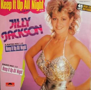 "Jackson, Jilly - Keep It Up All Night [12"" Maxi]"