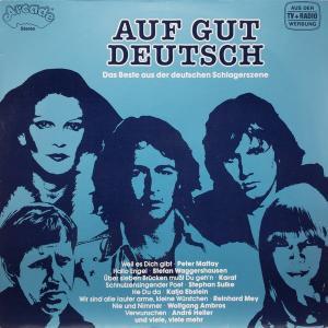 Various - Auf Gut Deutsch [LP]
